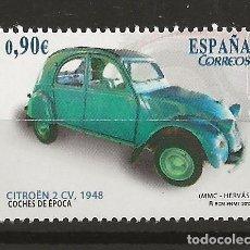 Sellos: R13.G35/ ESPAÑA 2013, COCHES DE EPOCA, MNH **. Lote 111973119