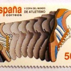 Sellos: SELLOS ESPAÑA 1989. EDIFIL 3023. NUEVO. COPA DEL MUNDO DE ATLETISMO.. Lote 112254023