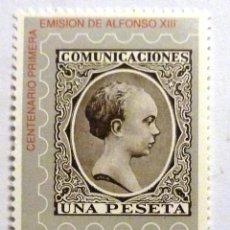 Sellos: SELLOS ESPAÑA 1989. EDIFIL 3024. NUEVO. CENTENARIO EMISION ALFONSO XIII.. Lote 112256311