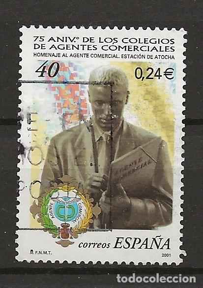 R30/ ESPAÑA USADOS 2001, EDIFIL 3776 (Sellos - España - Juan Carlos I - Desde 2.000 - Usados)
