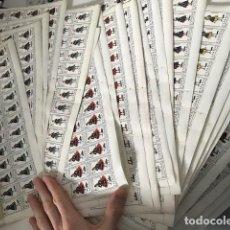 Sellos: COLECCIÓN COMPLETA DE LOS TRAJES TÍPICOS DE ESPAÑA. LOTE DE 53 PLIEGOS DE 50 SELLOS. Lote 112428911