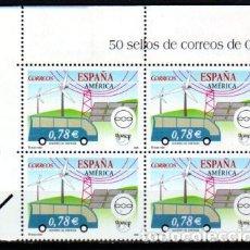 Sellos: ESPAÑA. 4275 AMÉRICA-UPAEP, EN BLOQUE DE CUATRO. 2006. NUMERACIÓN EDIFIL Y SELLOS NUEVOS. Lote 112433787