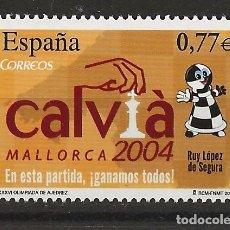 Sellos: R13.G35/ ESPAÑA 2004, EDIFIL 4070, MNH **, ... CALVIA 2004. Lote 112456323