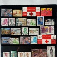 Lote 31 sellos España usados actuales.