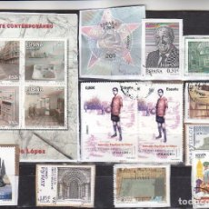 Sellos: LOTE NUMERO 20 CON SELLOS SIN LAVAR DE ESPAÑA. DESTACA FACIAL 2,84 EUROS CATEDRAL DE SIGÜENZA 2011.. Lote 112820019