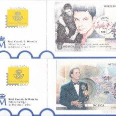 Sellos: HOJAS BLOQUE AÑO 2000 - Nº 3756/3766 EXPOSICION MUNDIAL FILATELIA, MATASELLOS DEL PRIMER DIA F.N.M.T. Lote 113085855