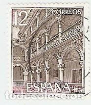 SELLO USADO ESPAÑA. EDIFIL Nº 2835. MONASTERIO DE LUPIANA. GUADALAJARA. REF. 1U-2835 (Sellos - España - Juan Carlos I - Desde 1.986 a 1.999 - Usados)