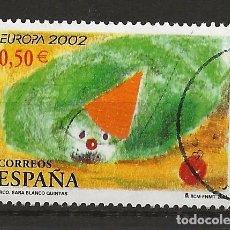 Sellos: R30.B1/ ESPAÑA USADOS 2002, EDIFIL 3896. Lote 113253599