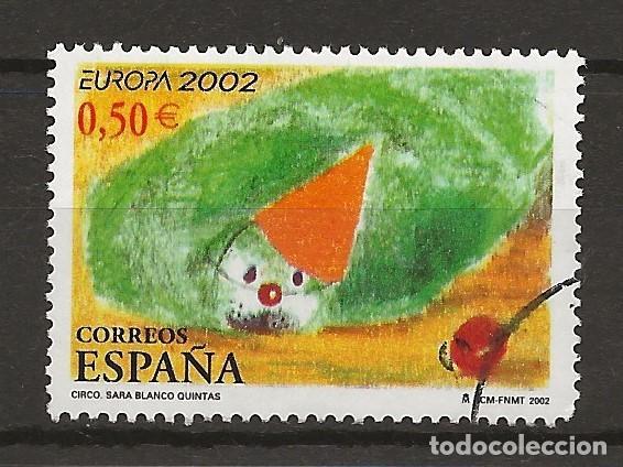 R30.B3/ ESPAÑA USADOS 2002, EDIFIL 3896 (Sellos - España - Juan Carlos I - Desde 2.000 - Usados)