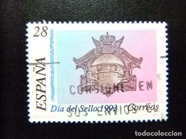 ESPAÑA 1993 SPAIN BUZÓN DE CORREOS EDIFIL Nº 3243 º USADO YVERT Nº 2836 º FU (Sellos - España - Juan Carlos I - Desde 1.986 a 1.999 - Usados)