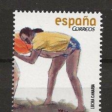 Sellos: R13.G35/ ESPAÑA 2008, MNH **, JUEGOS Y DEPORTES TRADICIONALES. Lote 113257835