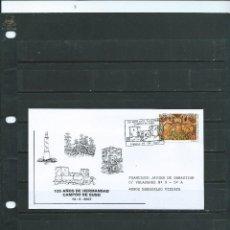 Sellos: SOBRE CON MATASELLO ESPECIAL DEL CASTILLO DE ARGÜESO DEL CAMPO DE SUSO DEL AÑO 2007. Lote 113394039