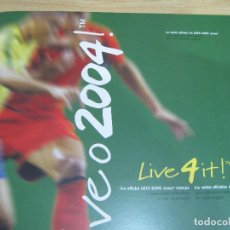 Sellos: SELLOS OFICIALES DE LA UEFA , EURO 2004 PORTUGAL. Lote 113511247