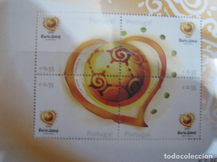 Sellos: SELLOS OFICIALES DE LA UEFA , EURO 2004 PORTUGAL - Foto 2 - 113511247