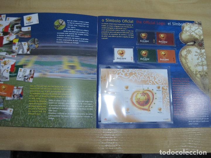 Sellos: SELLOS OFICIALES DE LA UEFA , EURO 2004 PORTUGAL - Foto 3 - 113511247