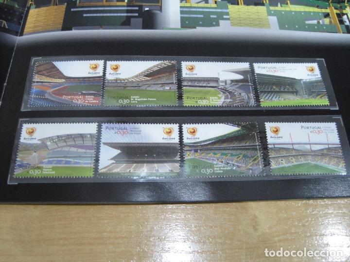 Sellos: SELLOS OFICIALES DE LA UEFA , EURO 2004 PORTUGAL - Foto 4 - 113511247