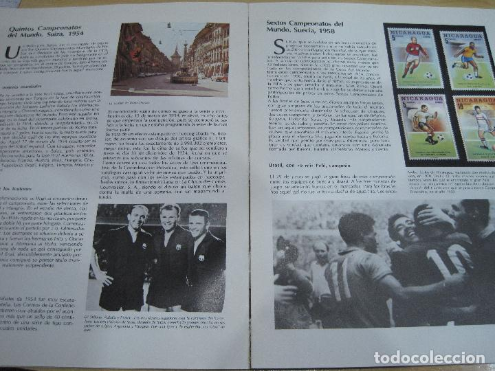 Sellos: MUNDIAL DE FUTBOL 1982 ALBUM CON 10 SELLOS C/FILOESTUCHES - Foto 2 - 113511947