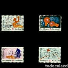 Sellos: SERIE DE ESPAÑA 1989 EDIFIL 2994/97 NUEVO. Lote 113593968