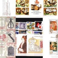 Sellos: AÑO 1990 COMPLETO Y NUEVO DE ESPAÑA. Lote 113678566
