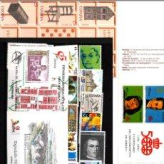 Sellos: AÑO 1991 COMPLETO Y NUEVO DE ESPAÑA. Lote 113678718