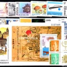 Sellos: AÑO 1993 COMPLETO Y NUEVO DE ESPAÑA. Lote 113679103