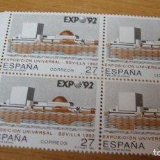 Sellos: ESPAÑA 1992 EDIFIL 3155 BLOUE 4 NUEVOS PERFECTOS. Lote 114180895