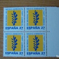 Sellos: ESPAÑA 1992 EDIFIL 3210 BLOQUE 4 NUEVOS PERFECTOS. Lote 114182819