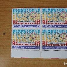 Sellos: ESPAÑA 1992 EDIFIL 3211 BLOQUE 4 NUEVOS PEFECTOS. Lote 114183099