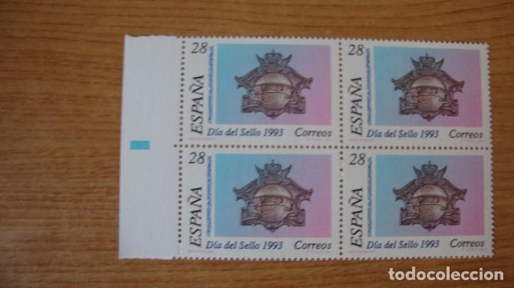 ESPAÑA 1993 EDIFIL 3243 BLOQUE 4 NUEVOS PERFECTOS (Sellos - España - Juan Carlos I - Desde 1.986 a 1.999 - Nuevos)