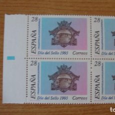 Sellos: ESPAÑA 1993 EDIFIL 3243 BLOQUE 4 NUEVOS PERFECTOS. Lote 114187915