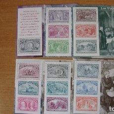 Sellos: ESPAÑA 1992 EDIFIL H-3204/09 NUEVAS PERFECTAS. Lote 163945045