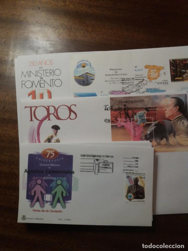 LOTE SPD 2001 (Sellos - España - Juan Carlos I - Desde 2.000 - Cartas)