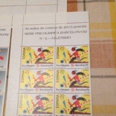 Sellos: SELLOS SERIE PRE-OLÍMPICA BARCELONA 92. Lote 152426800