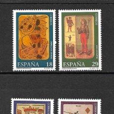 Sellos: MUSEO DE NAIPES. EMIT. 20-9-1994. Lote 114508771