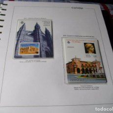 Sellos: ESPAÑA 2 HOJAS BLOQUE AÑO 2012 CATEDRAL DE PALMA Y EXFILNA 2012 LAS DE LA FOTO NUEVAS. Lote 114608879