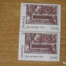 Sellos: ESPAÑA 1994 EDIFIL 3287 PAREJA NUEVOS PERECTOS. Lote 114715991