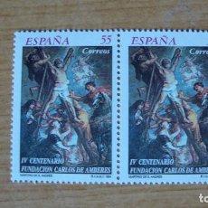 Sellos: ESPAÑA 1994 EDIFIL 3298 PAREJA NUEVOS PERFEECTOS. Lote 114717499