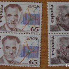 Sellos: ESPAÑA 1994 EDIFIL 3301/302 PAREA NUEVOS PERFECTOS. Lote 114718079
