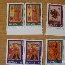 Sellos: ESPAÑA 1994 EDIIL 3317/20 PAREJA NUEVOS PERECTOS. Lote 114719795