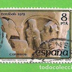 Sellos: EDIFIL 2550. NAVIDAD. SAN PEDRO EL VIEJO (HUESCA. - ''EL NACIMIENTO''. (1979).. Lote 115234739