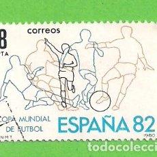 Sellos: EDIFIL 2570. CAMPEONATO MUNDIAL DE FÚTBOL ESPAÑA'82. (1980).. Lote 115237451
