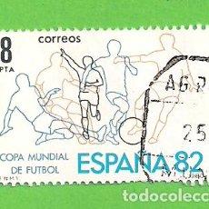 Sellos: EDIFIL 2570. CAMPEONATO MUNDIAL DE FÚTBOL ESPAÑA'82. (1980).. Lote 115237547