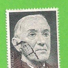 Sellos: EDIFIL 2578. CENTENARIO DEL NACIMIENTO DE RAMÓN PÉREZ DE ALAYA, 1880-1962. (1980).. Lote 115238751