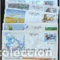 Sellos: AEROGRAMAS. AVIACIÓN. EMIT. 1985 / 1995. Lote 115269283