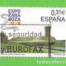 Sellos: EDIFIL 4391. EXPOSICIÓN INTERNACIONAL EXPO ZARAGOZA 2008. (2008).. Lote 115366583