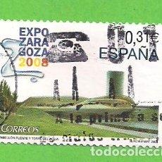 Sellos: EDIFIL 4391. EXPOSICIÓN INTERNACIONAL EXPO ZARAGOZA 2008. (2008).. Lote 115366859