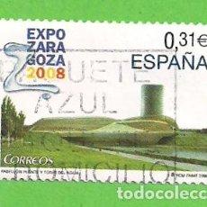 Sellos: EDIFIL 4391. EXPOSICIÓN INTERNACIONAL EXPO ZARAGOZA 2008. (2008).. Lote 115367659