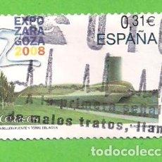 Sellos: EDIFIL 4391. EXPOSICIÓN INTERNACIONAL EXPO ZARAGOZA 2008. (2008).. Lote 115367939