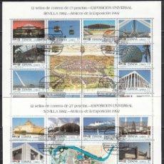Sellos: ESPAÑA 1992 EDIFIL Nº 3164 / 3187. Lote 115399811