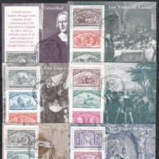 Sellos: ESPAÑA 1992 EDIFIL Nº 3204 / 3209 , COLÓN Y EL DESCUBRIMIENTO DE AMÉRICA, . Lote 115401959